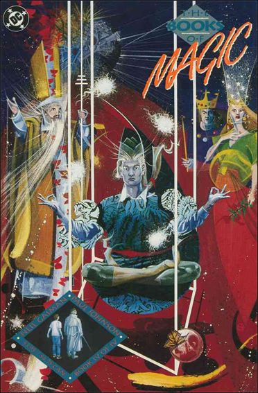 Books of Magic (1990) 4-A by DC
