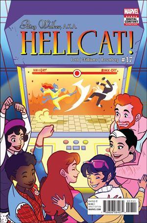 Patsy Walker, A.K.A. Hellcat! 17-A