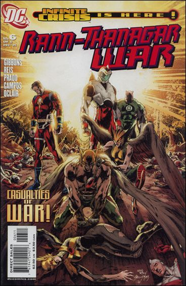 Rann/Thanagar War 6-A by DC