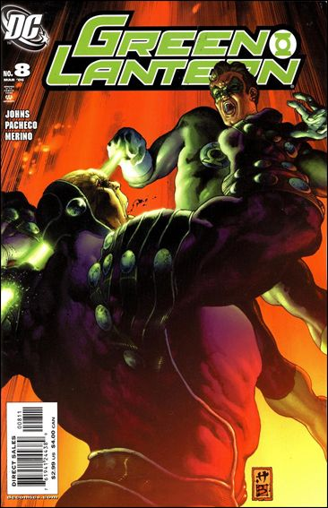 Green Lantern (2005) 8-A by DC