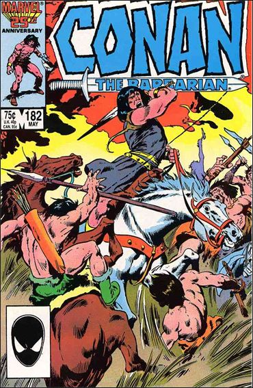 Conan the Barbarian (1970) 182-A by Marvel