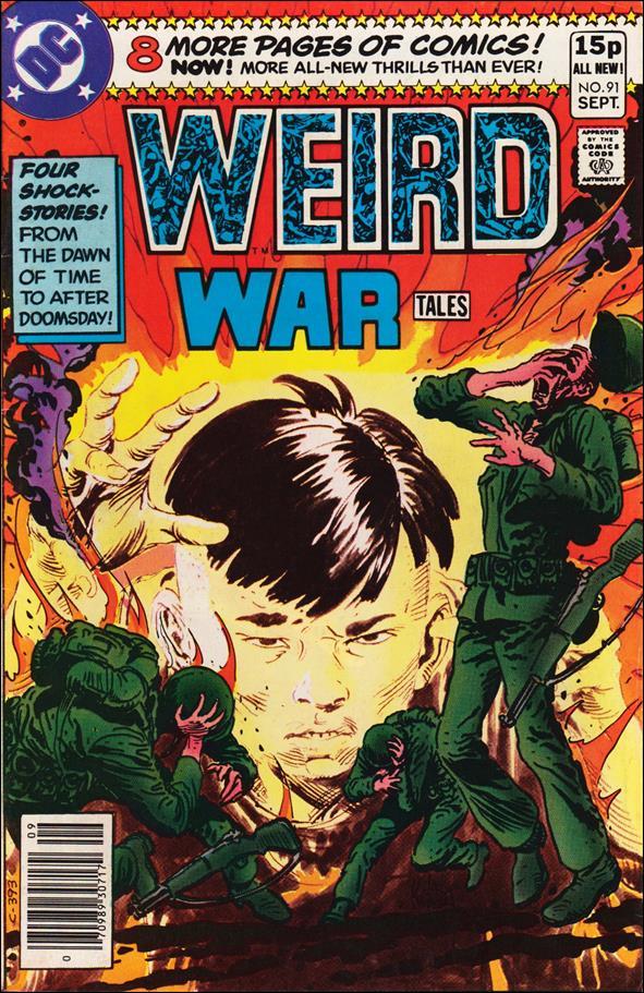 Weird War Tales (1971) 91-B by DC