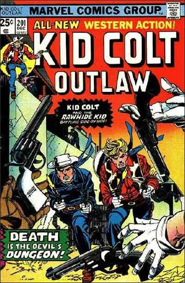 Kid Colt Outlaw  201-A by Marvel
