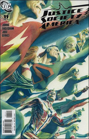 Justice Society of America (2007) 11-A by DC