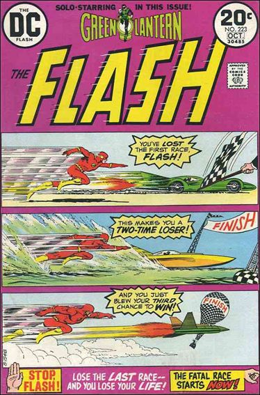 Flash (1959) 223-A by DC
