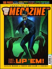 Judge Dredd Megazine (2003) 206-A by Rebellion