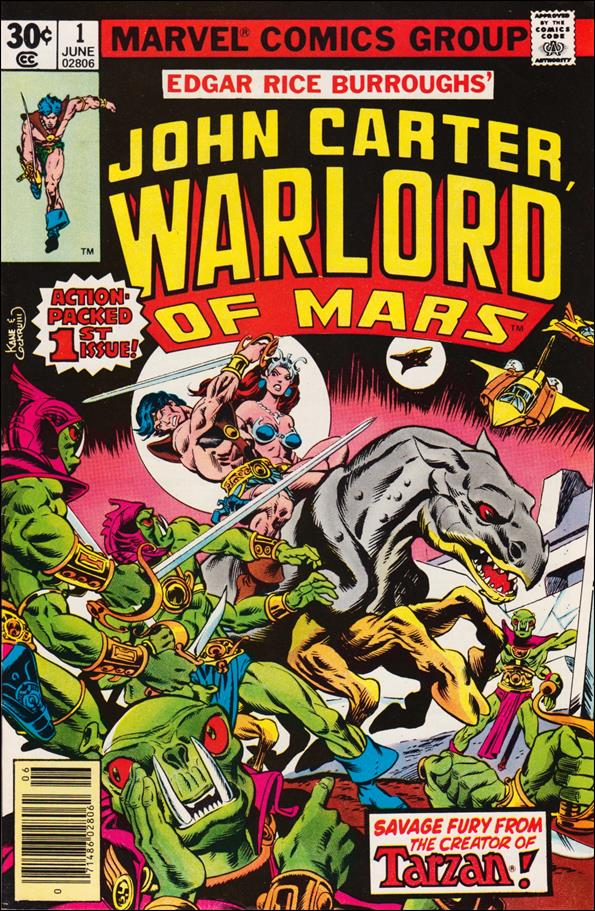 John Carter, Warlord of Mars 1-A by Marvel