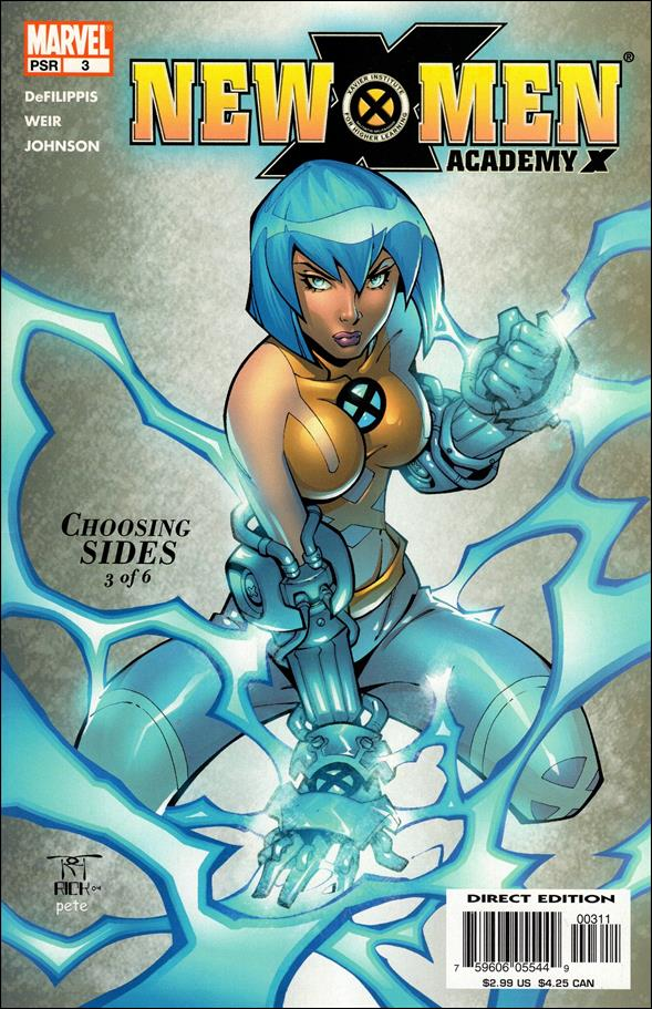 New X-Men: Academy X 3-A by Marvel