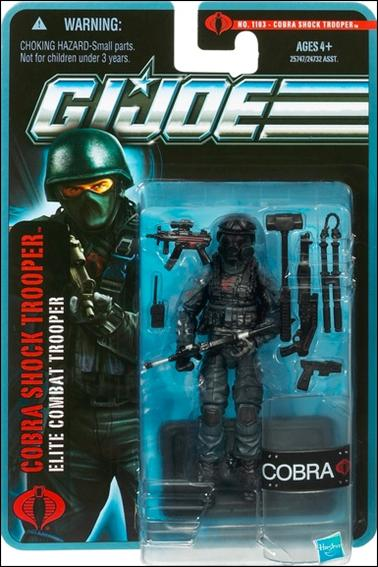 G.I. Joe: The Pursuit of Cobra COBRA Shock Trooper (Elite Combat Trooper) by Hasbro