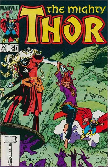 Thor (1966) 347-A by Marvel