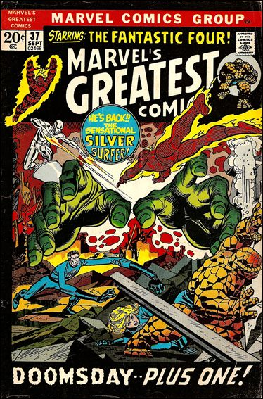 Marvel's Greatest Comics 37-A by Marvel