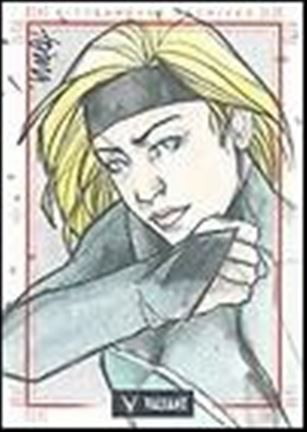 2013 Valiant Comics Preview Trading Card Set (Sketch Card Subset) AT-02-A