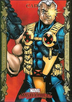 2007 Marvel Masterpieces (Parallel Gold Border Base Set) 15-A