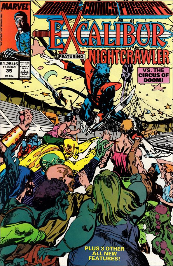 Marvel Comics Presents (1988) 35-A by Marvel