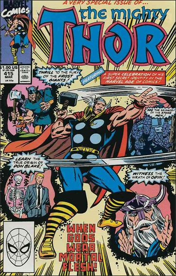 Thor (1966) 415-A by Marvel
