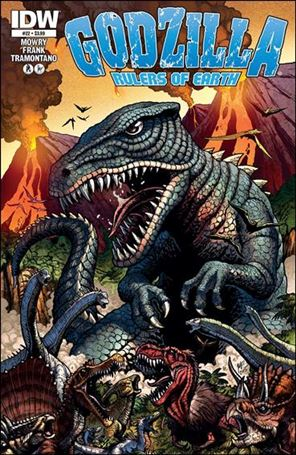 Godzilla: Rulers of the Earth 22-A