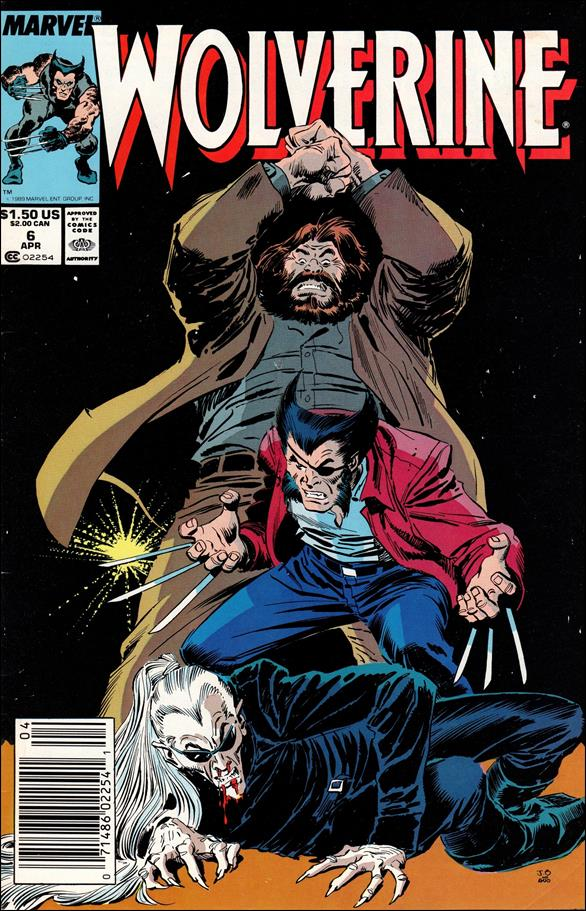 Wolverine (1988)  6-A by Marvel