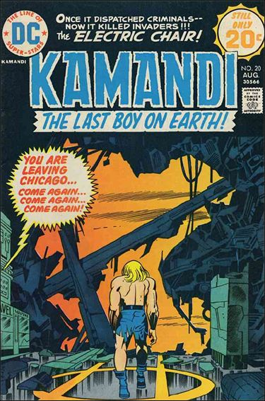 Kamandi, the Last Boy on Earth 20-A by DC