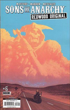 Sons of Anarchy Redwood Original 6-B