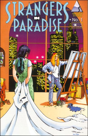 Strangers in Paradise (1994) 1-C by Abstract Studio