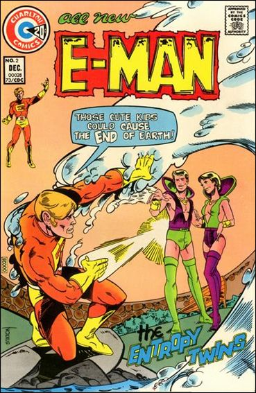 E-Man (1973) 2-A by Charlton