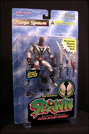 Spawn (Series  3) Ninja Spawn (Silver Edition)