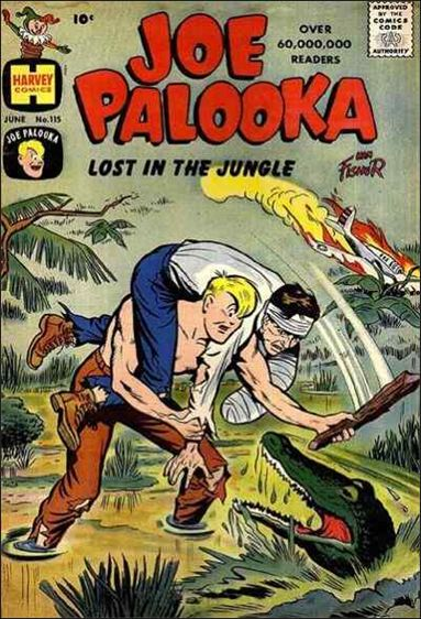 Joe Palooka (1945) 115-A by Harvey