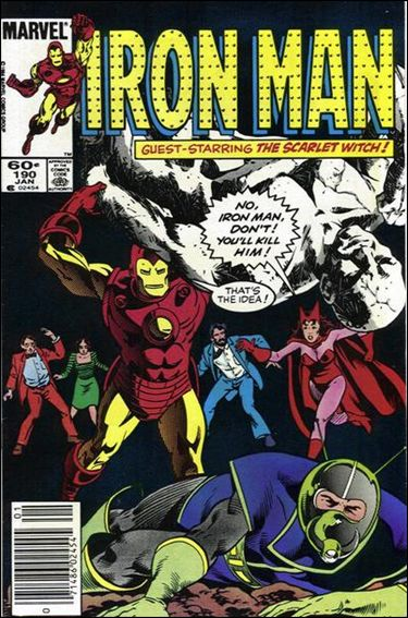 Iron Man (1968) 190-A by Marvel