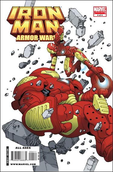 Iron Man and the Armor Wars 4-A by Marvel