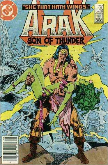 Arak Son of Thunder 45-A by DC
