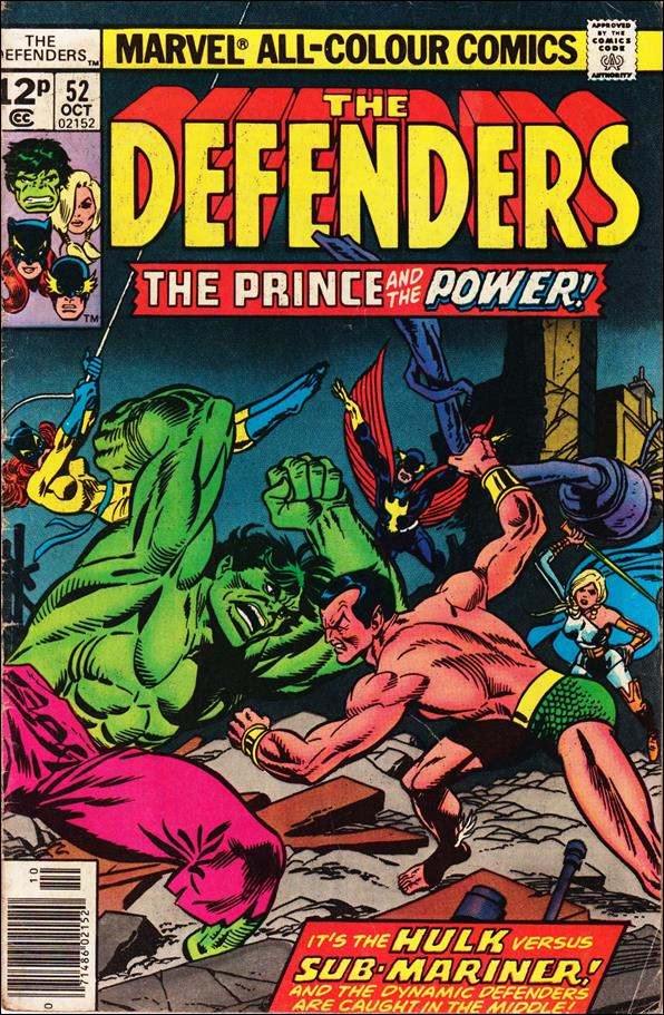 Defenders (1972) 52-C by Marvel