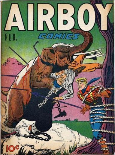 Airboy Comics (1947) 1-A by Hillman