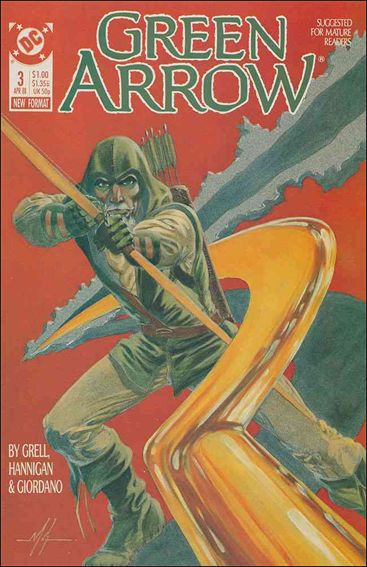 Green Arrow (1988) 3-A by DC