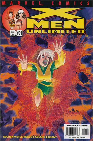 X-Men Unlimited (1993) 31-A by Marvel