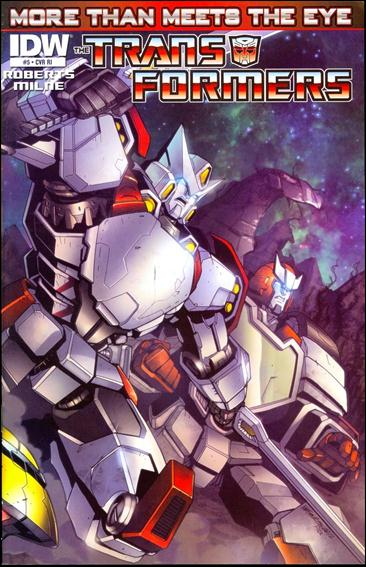 Transformers: More Than Meets the Eye (2012) 5-C by IDW