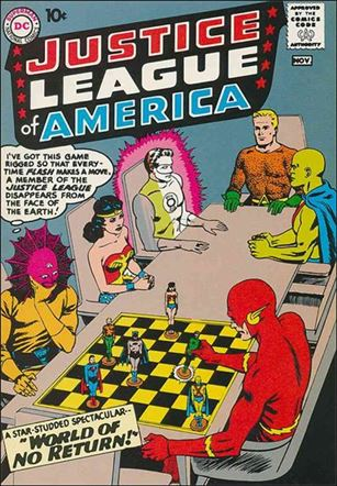 Justice League of America (1960) 1-A