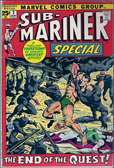 Sub-Mariner Special 2-A by Marvel
