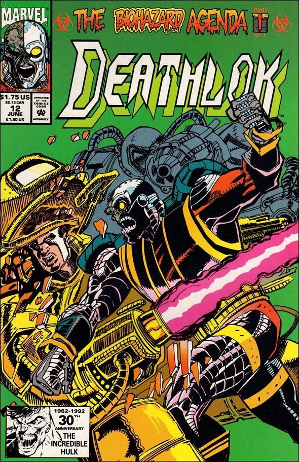 Deathlok (1991) 12-A by Marvel