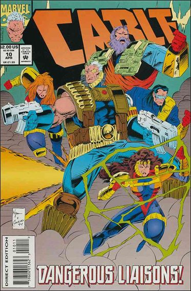 Cable (1993) 10-A by Marvel