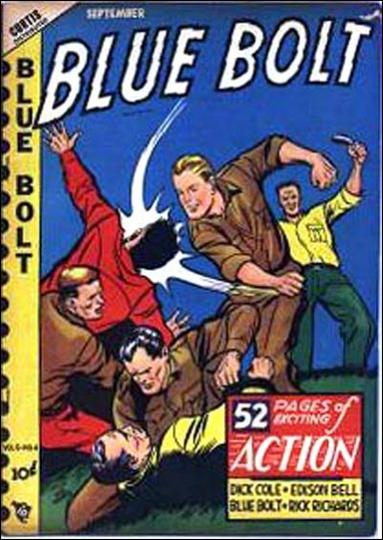 Blue Bolt (1948) 4-A by Premium