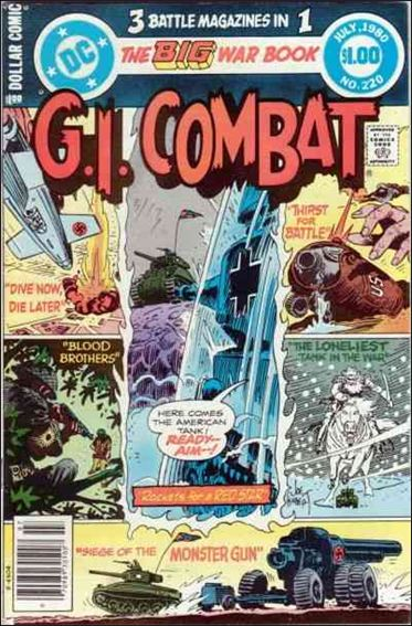 G.I. Combat (1952) 220-A by DC
