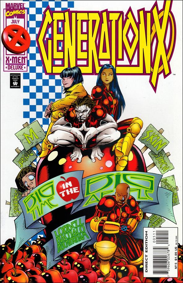 Generation X (1994) 5-A by Marvel