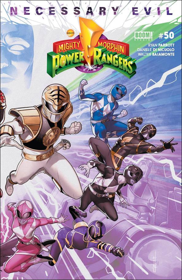 Mighty Morphin Power Rangers 50-B by Boom! Studios