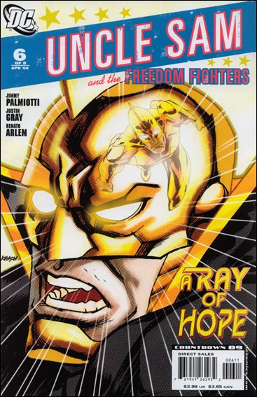 Uncle Sam and the Freedom Fighters (2007) 6-A by DC