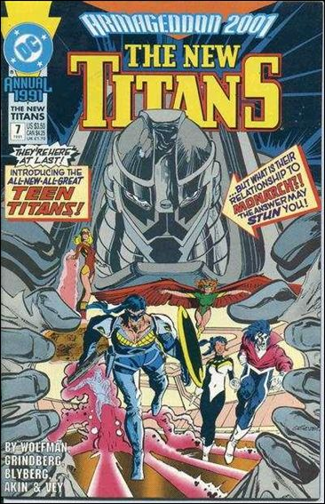 New Titans Annual 7-A by DC