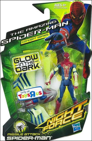 Amazing Spider-Man (Night Force) Missile Attack Spider-Man (Concept Series) by Hasbro