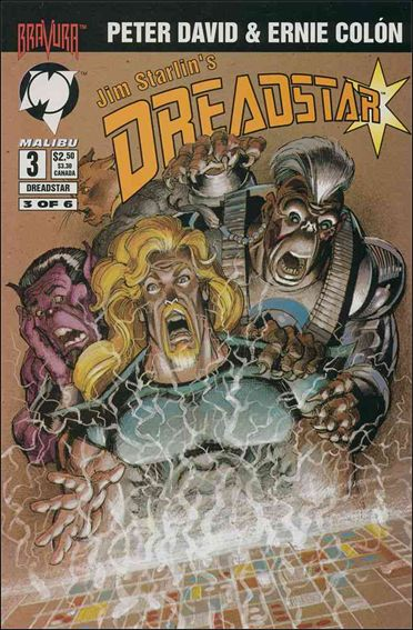 Dreadstar (1994) 3-A by Malibu