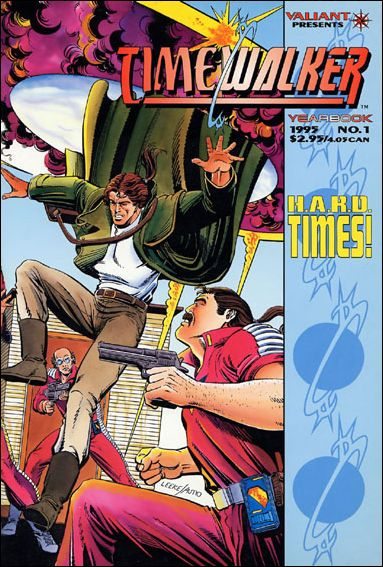 Timewalker Yearbook 1-A by Valiant