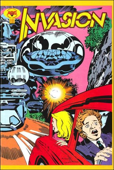 Invasion (1997) 1-A by America's Comic Group (ACG)