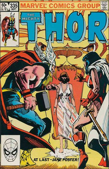Thor (1966) 335-A by Marvel